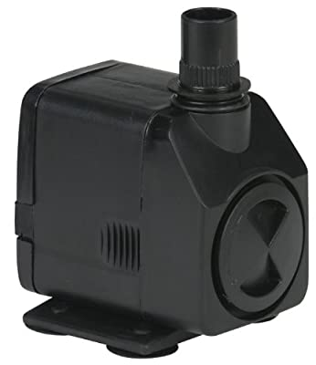 Little Giant 566716 130 GPH Submersible Magnetic Drive Statuary Fountain Pump, 11 Watts