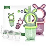 Best Baby Feeders - ANGELBLISS Baby Food Fruit Feeder/Pacifier, Organic/Infant Teething Toys Review