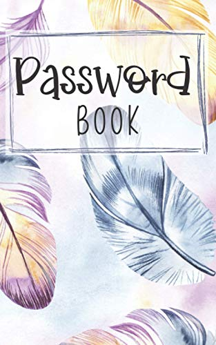 Password Book: Small Internet Password - Log and Alphabetical Tabs / Password...
