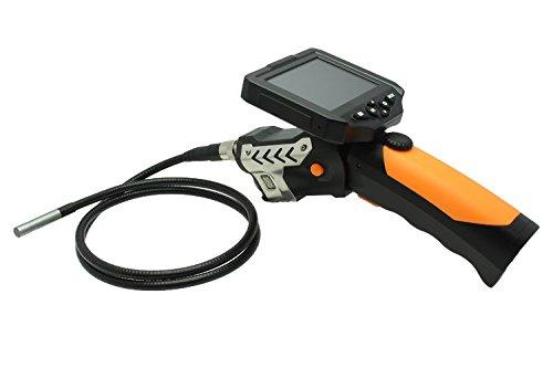 Express Panda Digital Inspektionskamera mit 3,5-Zoll-Monitor und DVR-Funktion - Videoaufnahme Endoskop-Endoskop-Kamera mit 6 LED-Licht und LCD-Bildschirm