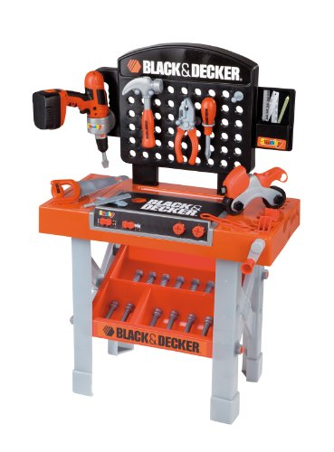 Smoby Black and Decker Super Workbench 500205