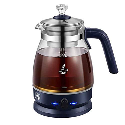 LMDH Glas Electric Kettle, glas Ketel met Droogkookbeveiliging & automatische uitschakeling, met filter, stil Fast Kook for thee en koffie