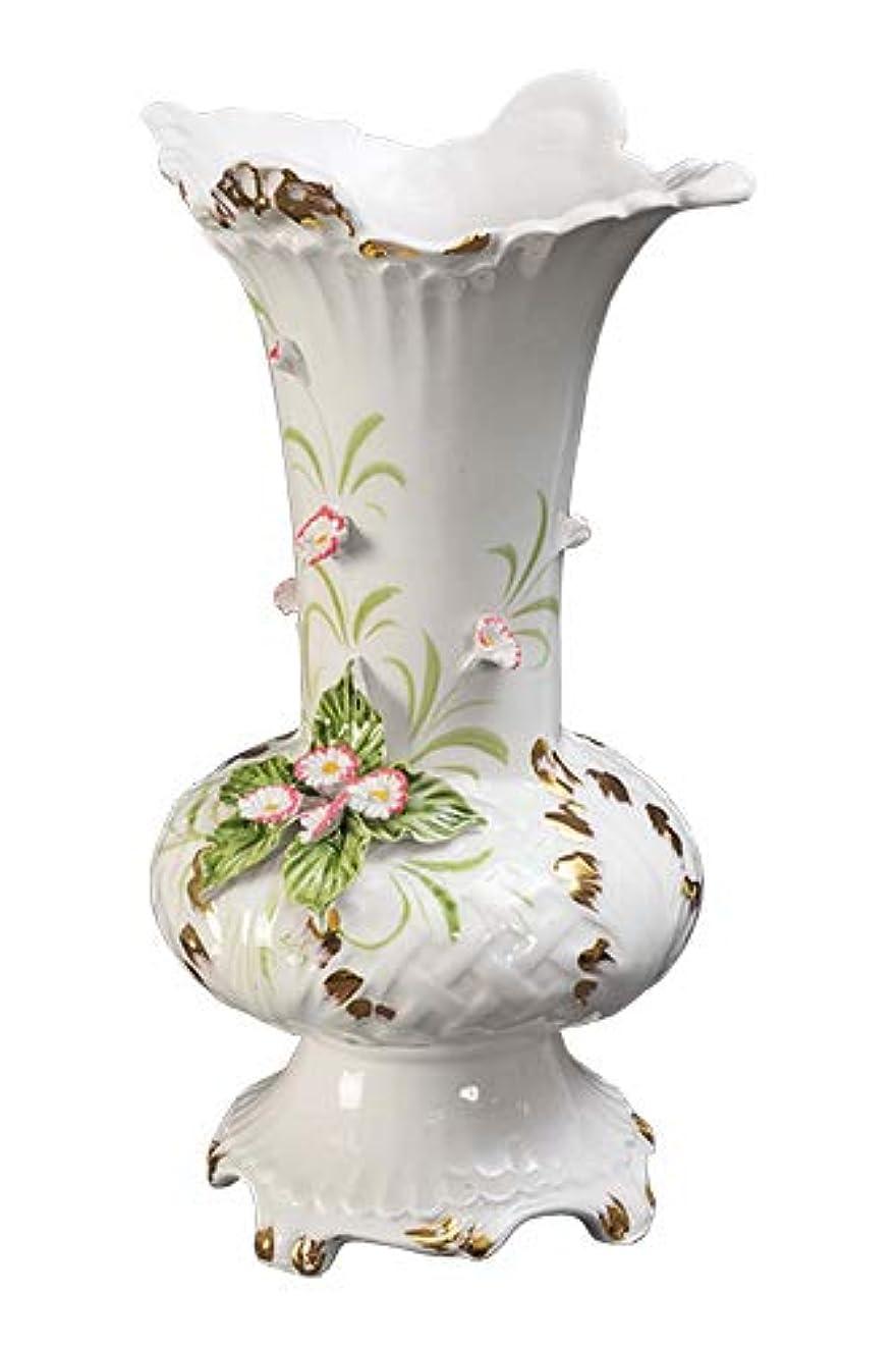 ブランク放棄された仲間、同僚【イタリア製*直輸入】陶製小物 (花瓶)