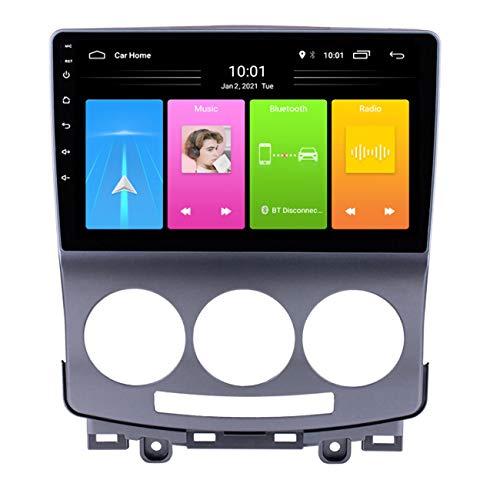 Navegación GPS para coche, Reproductor de DVD con radio de coche Android 10 para Mazda 5 2005-2010, pantalla táctil 2.5D, con manos libres Bluetooth, WIFI / 4G (opcional),Wifi 2g+32g