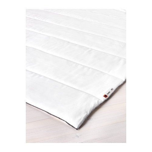 IKEA Bettdecke TILKÖRT Mikrofaser 2 Größen Sommerdecke (140 x 200 cm)