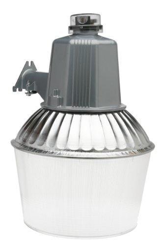 Woods L1741 150-Watt High Pressure Sodium Dusk to Dawn Security Light with 12-Inch Acrylic Reflector, Powder Coated