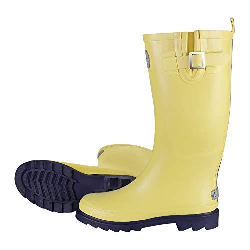 Leitfeuer Damen Gummistiefel, Farbe:pastellgelb, Schuhgrößen:41 EU