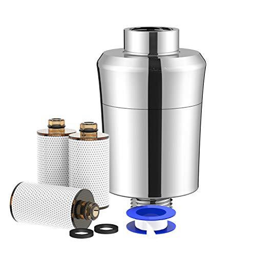 Duschfilter with Teflonband, Kalkfilter Dusche Wasserfilter Wasserhahn