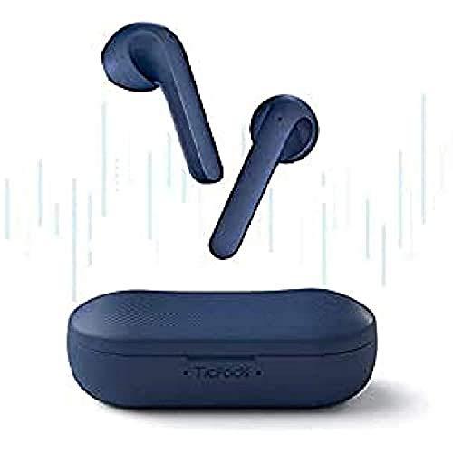 TicPods 2 PRO Auricolari Wireless, Rilevazione nell'Orecchio, qualità del Suono Superiore, Controllo Touch/Vocale/Gesti, Assistente Vocale, Grado di impermeabilità IPX4, Blu
