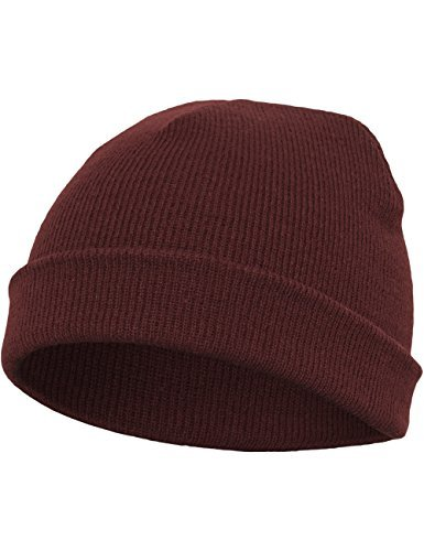 Flexfit Mütze Heavyweight Beanie, maroon, one size, 1500KC-00150-0050 by Flexfit