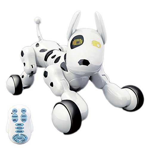 Hi-Tech Wireless Interactive Robot Puppy, Robot Dog, Remote Control Dogs for Boys/Girls Children...