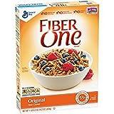 Fiber One Original Bran Cereal No High Fructose 16.2 Oz. Pack Of 3.