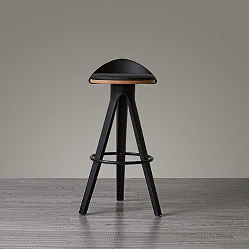 GAOX Muebles De La Industria del Metal Taburete De Bar Desayuno Cocina Bistro Cafe Retro Country Chair(Color:si,Size:75CM)