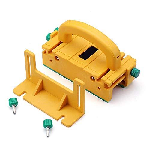 hgfter Herramienta de la carpinter/ía Seguridad Pushblock a las tablas Tabla Sierras Router Banda Ensambladoras de sierra