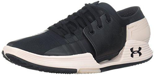 Under Armour Women's Speedform AMP 2.0 Sneaker, Black (002)/French Gray, 8.5