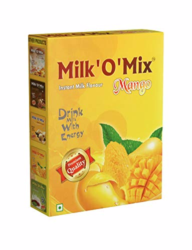 Milkomix Mango Milkshake & Ice Cream Flavored Milk Powder – 150 GM