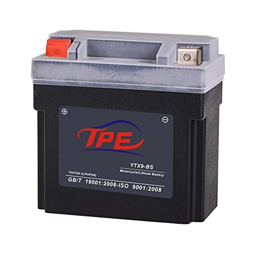 TPE Lithium Iron Motorcycle Battery with Built-in Battery...