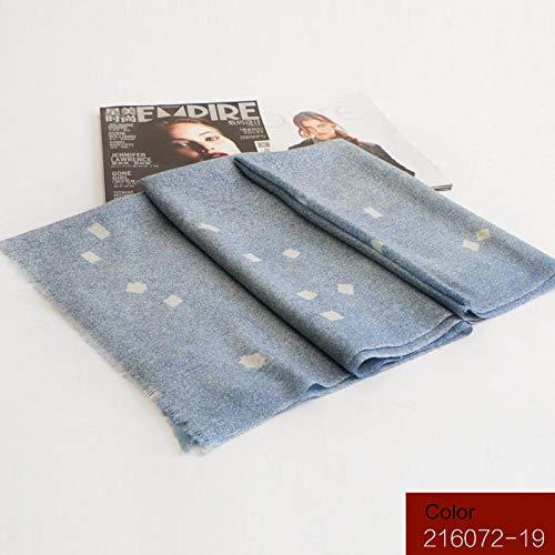 FIFY Inner Mongolia Wollschal Hersteller 80 Spray Dye Wollschal weiblichen Blumen Herbst und Winter warm 70 * 200CM @ B