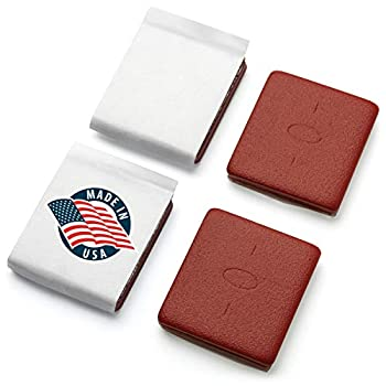 WEIGHTYS Original USA Made Flag Weights - 2 Pair  Trademarked Flag Tangling Prevention Weights - Tangle Free Hanging Flag Accessory // 100% Certified Made in America