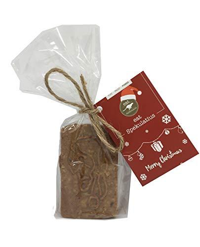 eat Performance® Paleo Spekulatius (100g) - Bio, Paleo, Weihnachtsprodukt, Ohne Zuckerzusatz, Glutenfrei, Laktosefrei, Gebäck Aus 100% Natürlichen Bio Zutaten