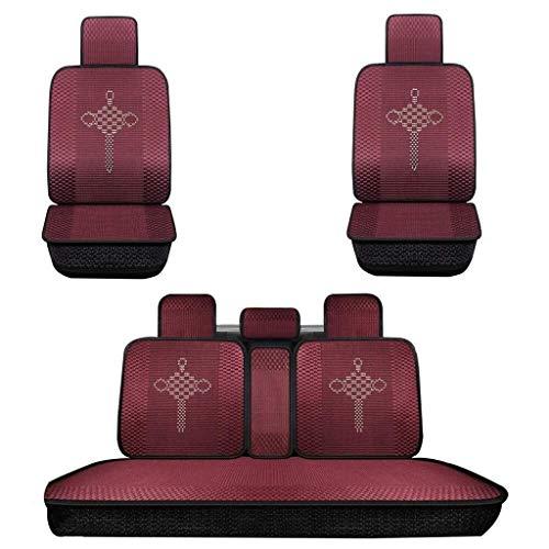 Sale!! Car Seat Protector - Car Seat Cushion, Car Seat Cushion, Summer Mat, Polyester Weaving Proces...
