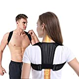 Aaiffey Back Brace Posture Corrector for Women and Men Upper Back Straightener Clavicle Support Posture Support Brace for Neck Shoulder Back Pain Relief 2019 New (28'-47' waist)