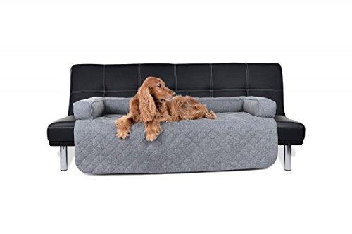 PadsForAll Sofaschutz Sesselschutz, Couch Schutzdecke für Hunde, Hundematte in grau
