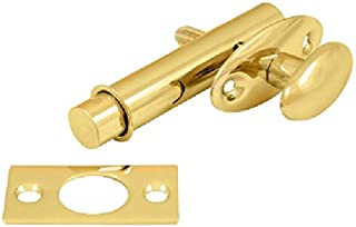 Deltana MB175CR003 Screen Doors and Cabinet Doors Solid Brass Mortise Bolt for Light Doors