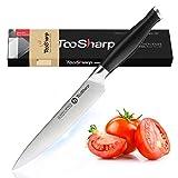 TooSharp Cuchillo multiusos – Serie Comfort-Pro – Cuchillos de acero inoxidable alto en carbono X50CrMOV15  6' (152mm)