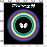 Butterfly Tenergy 80 Table Tennis Rubber Table Tennis Rubber   1.7 mm, 1.9 mm, or 2.1 mm   Red or...