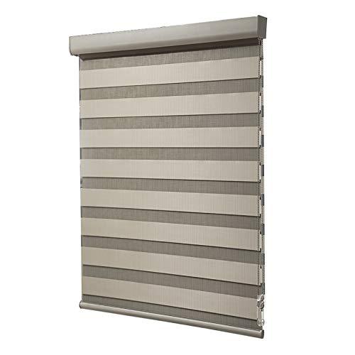 HYDT Rollo Innenfenster-Rollläden Jalousie, Stanzfrei Verdunkelungsdichte wasserdichte Doppelschicht-Rollläden für Schlafzimmer und Büro (Size : 120×180cm(47 in×71 in))