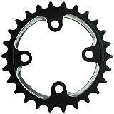 LYHMHZ Bielas para Bicicletas Aluminio Aluminio Aluminio AL7075 26T 64BCD Cadena de cigüeñal 38T 104BCD Rueda de Cadena de la Rueda de Cadena para 9S 10S MTB Mountain Bike Set (Color : 26T)