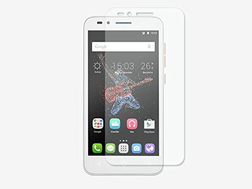 etuo Bildschirmschutzfolie für Alcatel One Touch Go Play - 3H Folie Schutzfolie Bildschirm Display Schutz