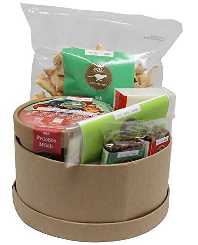 eat Performance® Gute Besserung Geschenkkorb (5 Artikel + Box) - Bio, Paleo, Glutenfrei Aus 100% Natürlichen Zutaten