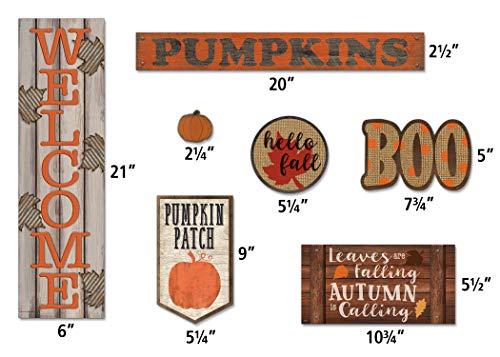 Teacher Created Resources Home Sweet Classroom Happy Fall Mini Bulletin Board (TCR8734) Photo #2