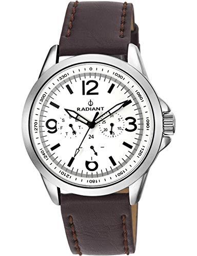 Radiant Orologio Cronografo Quarzo Uomo con Cinturino in Pelle RA413702
