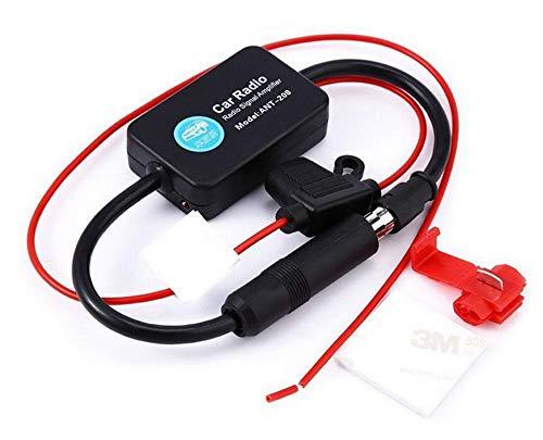 Boomboost - Amplificateur de Signal autoradio 12V ANT-208 amplificateur d'antenne FM/AM
