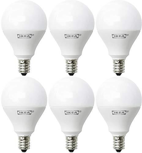 Ikea E12 400 Lumen LED Light Bulb 5 Watt - Pack of 2