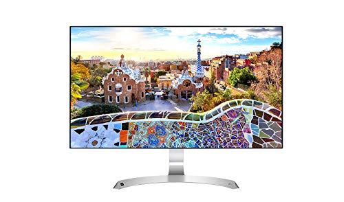 LG IT Products 27MP89HM-S 68,58 cm (27 Zoll) Full HD IPS Monitor (AMD FreeSync, 2x HDMI) silber