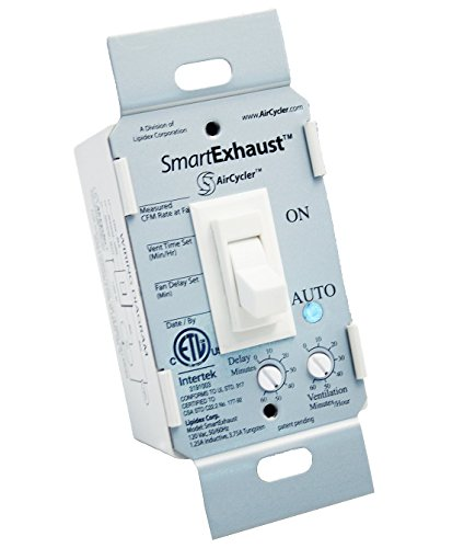 AirCycler SmartExhaust Time Switch, White - SE1-W by AirCycler