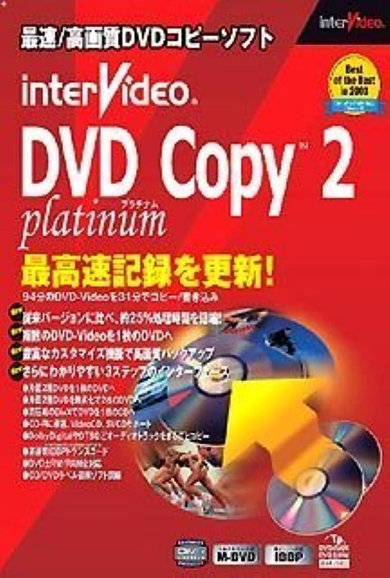 筋肉の吸収剤出発するInterVideo DVD Copy 2 Platinum