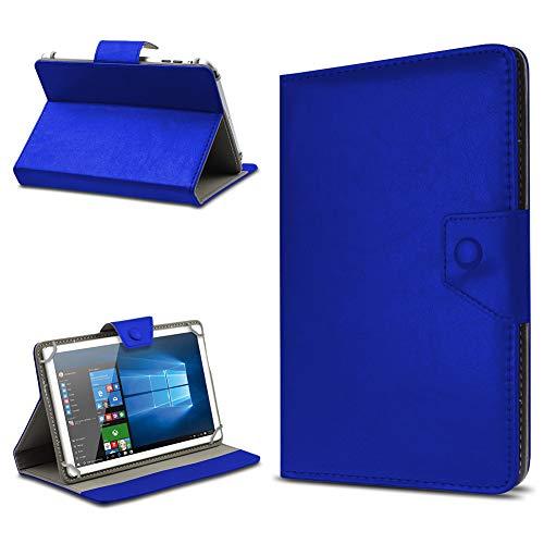 UC-Express Tasche Schutz Hülle für TrekStor SurfTab xintron i 10.1 Tablet Hülle Stand Cover Farbauswahl, Farben:Blau, Tablet Modell für:BLAUPUNKT Endeavour 1000 WS