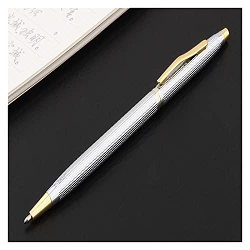 Bolígrafos Stick 5 PCS Calidad de lujo 003 Modelo Color Oficina de Negocios Oficina Escuela Oficina Papelería Bolígrafo Nuevo Pen Gold Pen Financial Point Pens para principiantes en caligrafía
