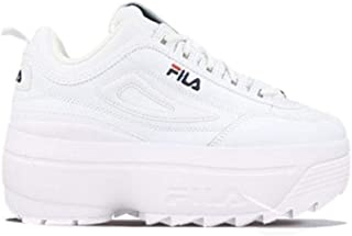 Luxury Fashion | Fila Women 10108651FG White Leather Sneakers | Spring-summer 20