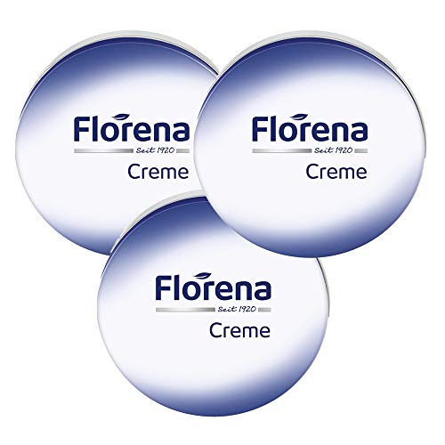 Florena Creme Dose 3er Pack (3x 150ml) Gesichtspflege Gesichtscreme Hautcreme
