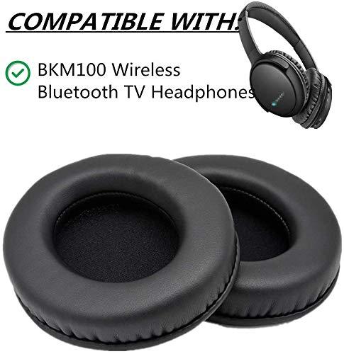 Oorkussens Kussens Bekers Schuim Vervanging voor Make Mate BKM100 Draadloze Bluetooth TV Hoofdtelefoon Oorkussens Kussenhoezen
