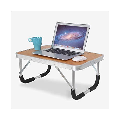 Lapdesks Vouwtafel Computer Tafel Aluminium Draagbare Outdoor Kleine Tafel Kleine Eettafel Computer klaptafel (Kleur : A, Maat : 60 * 40CM)
