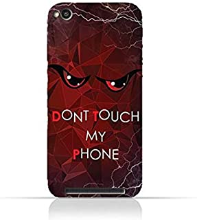 Xiaomi Redmi 4A TPU Silicone Case With Do not Touch My Phone 3