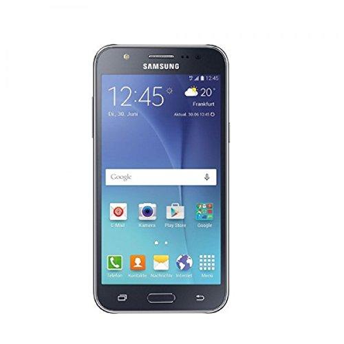 SAMSUNG Galaxy J5 Dual SIM 4G LTE Simfree 5 Inch Super AMOLED, 1.5GB RAM Smartphone - Black, [Importado de Reino Unido]
