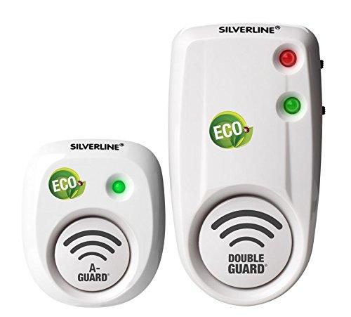 Silverline Mr 80 DG2 + Mr 30, 2 Geräte: 1 x 80 m² und 1 x 30 m² – Weiß